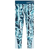 Nike Blue Multi Pro Tights