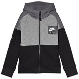 Nike Grey and Black Air Hoodie