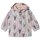 Stella McCartney Kids Grey Ice Cream Water Repellent Rain Coat
