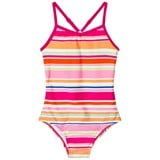 Lands' End Multi Coloured Striped UPF50 Swimsuit