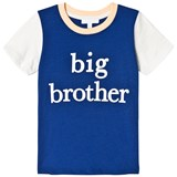 Livly Dark Blue and White Big Brother T-Shirt