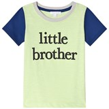Livly Neon Yellow And Blue Big Brother T-Shirt