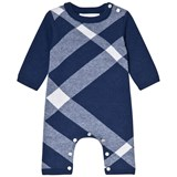 Burberry Blue Ashley Check Onesie