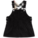 Burberry Black Wilma Dungaree Dress