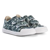 10 IS Palm Camo Print Velcro Shoes