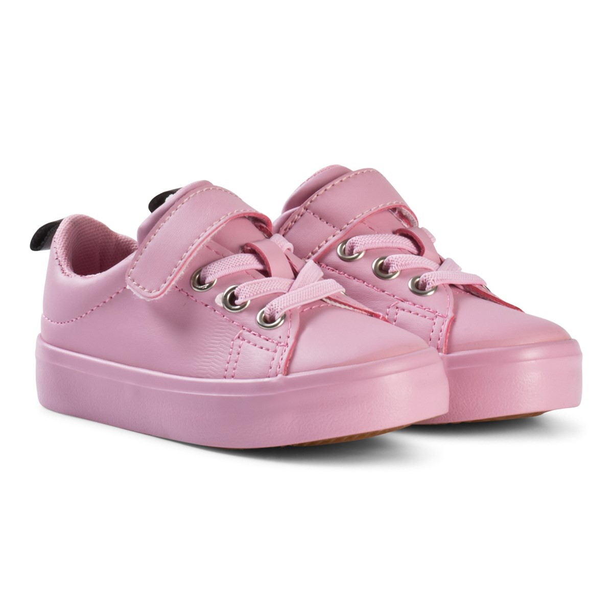 Kuling Pink Lace-up Trainers