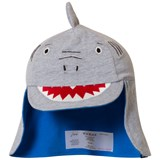 Joules Grey Shark Infants Sun Hat with Fin