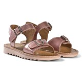 Pom D'api Rose Ripple Buckle Sandals