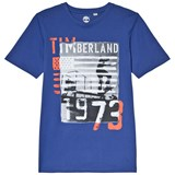 Timberland Kids Royal Blue Flag Branded Tee