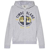 Timberland Kids Grey Large Tree Logo Hoodie