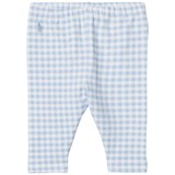 Ralph Lauren Pale Blue Gingham Leggings