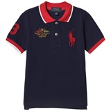 Ralph Lauren Navy Big Pony and Crest Pique Polo