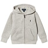 Ralph Lauren Grey Double Knit Hoody with PP