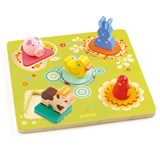 Djeco Duck And Friends Puzzle