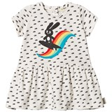 The Bonnie Mob Rainbow Surf Bunny Short Sleeve Dress