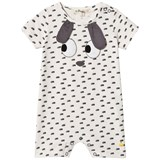 The Bonnie Mob Rabbit Ears Applique Romper
