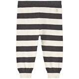 The Bonnie Mob Monochrome Stripe Lightweight Knitted Trouser