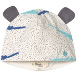 The Bonnie Mob Blue Scribble Waves Print Hat with Ears