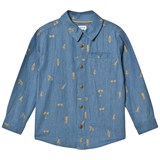 Mini A Ture Jeppe Shirt K True Navy