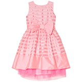 Holly Hastie Pink Florance Roses With Back Zip and Detachable Bow Dress