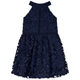 Bardot Junior Navy Gemma Halter Dress