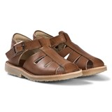 Young Soles Tan Leather Frankie Sandals