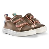 Toms Rose Gold Metallic Velcro Trainers