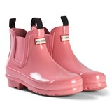 Hunter Panther Pink Hunter Original Kids Chelsea Boots