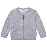 eBBe Kids Row sweat jkt Mixed palm trees