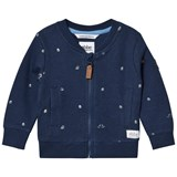 eBBe Kids Ryan sweat jkt Boats on blue