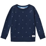 eBBe Kids Radford sweater Boats on blue