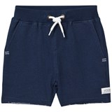 eBBe Kids Red sweat shorts Dark blue melange