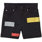 Stella McCartney Kids Black Multi Motif Blake Shorts