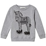 Stella McCartney Kids Grey Punk Donkey Biz Sweatshirt