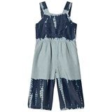 Stella McCartney Kids Blue Tye Dye Lea Soft Dungarees