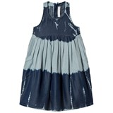 Stella McCartney Kids Blue Tie-Dye Poco Soft Dress