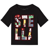 Stella McCartney Kids Black Stella Lolly T-Shirt