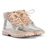 AKID Pink and Transparent Boots