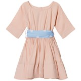 How To Kiss A Frog Powder Pink Siona Dress with Belt