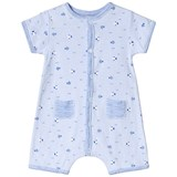 Absorba Blue Fish Print Shortall