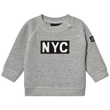Petit by Sofie Schnoor Grey Sweat NYC Graphic Jumper