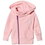 Gugguu Soft Rose and Violet College Hoodie