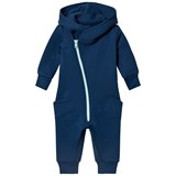 Gugguu Deep Blue and Light Mint College Jumpsuit