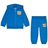 Moschino Blue Bear Branded Tracksuit