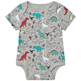 Gap Grey Dinosaur Print Body