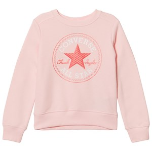 Converse Pink Chuck Patch Crew Neck Sweatshirt 12-13 years