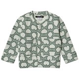 Little LuWi Green Snake Print Bomber Jacket