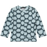 Little LuWi Blue Snake Print Long Sleeved T-Shirt