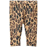 Mini Rodini Beige Leopard Fancy Swim Leggings