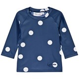 Mini Rodini Navy Dot UV Top